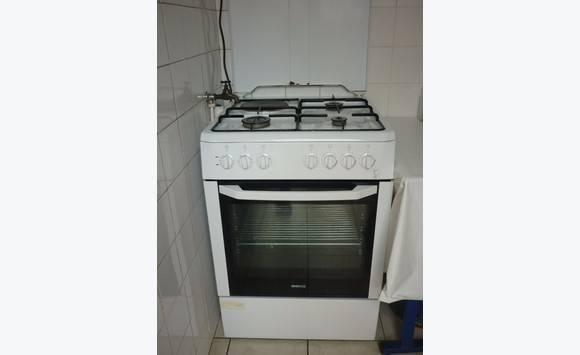 Cuisini re 3 feux gaz 1 feu lec four lectrique - Cuisiniere 3 feux four electrique ...