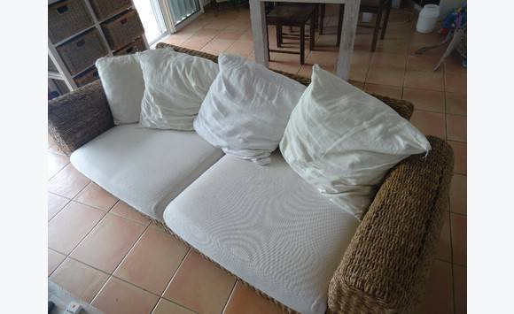 Canap jonc de mer annonce meubles et d coration parc for Canape orientale