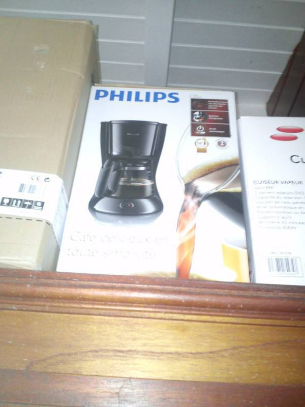 cafetiere philips neuve annonce lectrom nager terres basses saint martin. Black Bedroom Furniture Sets. Home Design Ideas