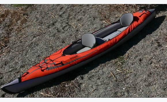 Kayak gonflable tout quip 1 2 places annonce sports et activit s naut - Meilleur kayak gonflable ...