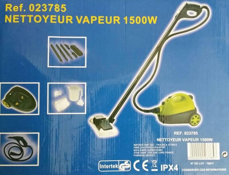 Nettoyeur vapeur 1500w annonce lectrom nager guyane for Acheter un nettoyeur vapeur