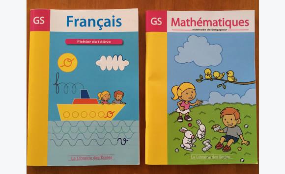 Livres Grande Section Francais Et Mathematiques