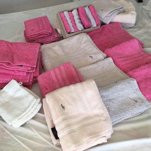 lot de serviettes de bain ralph lauren annonce linge de maison gustavia saint barth lemy. Black Bedroom Furniture Sets. Home Design Ideas
