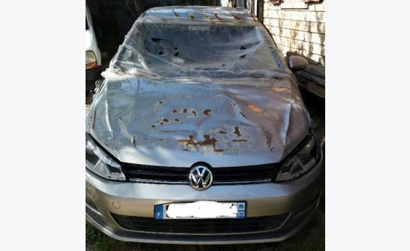 Achat/Vente en présentant usa pas cher vente Volkswagen golf 7 Accidenté