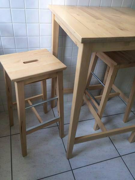 Table haute ikea annonce meubles et d coration marigot for Ikea table 9 99