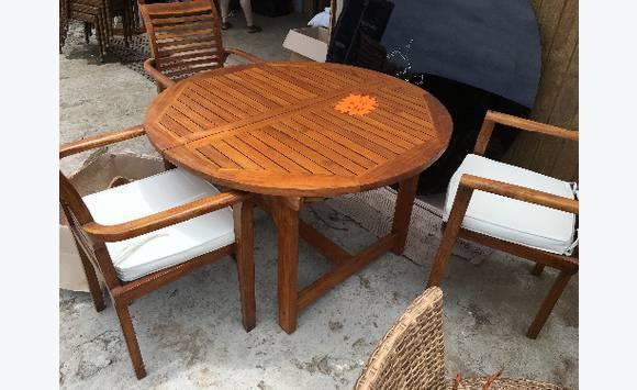 table chaises annonce mobilier et quipement d