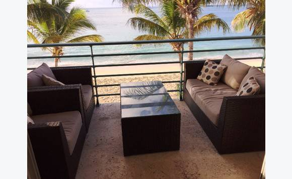 Beachfront appartement-simpson bay