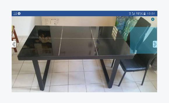 table de salle manger 6 places annonce meubles et On salle a manger 6 places