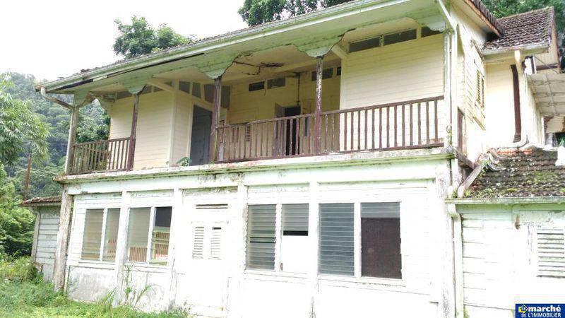 Une Maison Coloniale Sur Un Terrain De Ventes Maison Martinique