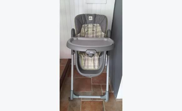 Chaise haute graco annonce pu riculture equipement for Chaise haute graco
