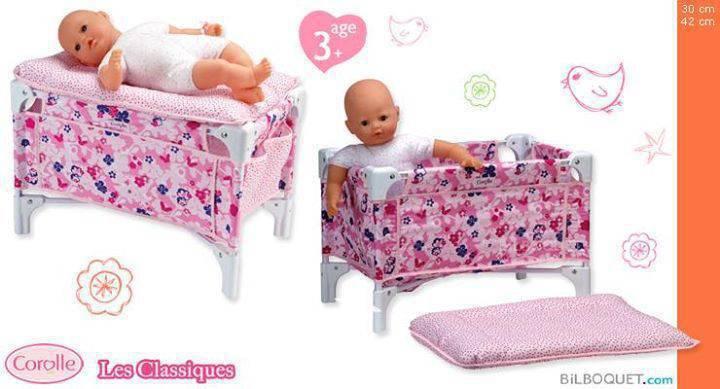 Lit bebe et table langer corolle annonce jeux - Lit bebe et table a langer ...