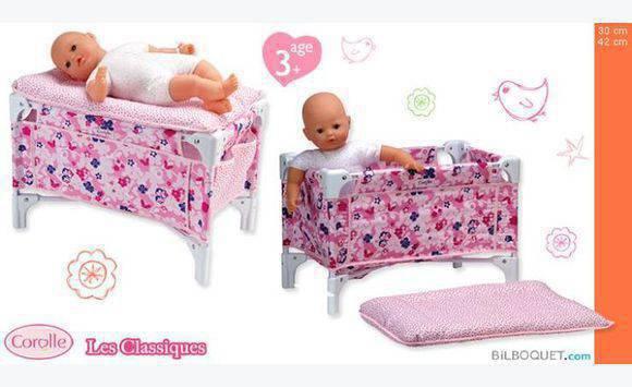 lit bebe et table langer corolle annonce jeux. Black Bedroom Furniture Sets. Home Design Ideas