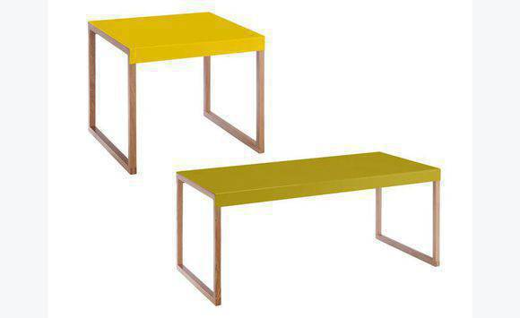 table jaune habitat annonce meubles et d coration saint martin. Black Bedroom Furniture Sets. Home Design Ideas