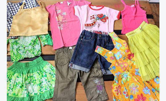 5f2e99610fcb0 Lot de 11 vêtements FILLE 4 ans - Habillement Enfant et Bébé ...