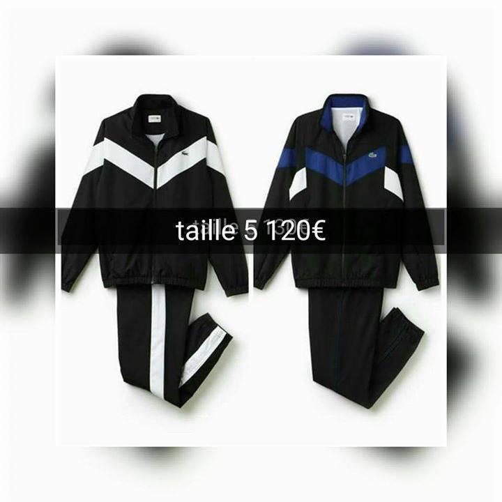 bbe196baee Survêtement lacoste taille 2/3/4/5/6 - Vêtements Martinique • Cyphoma