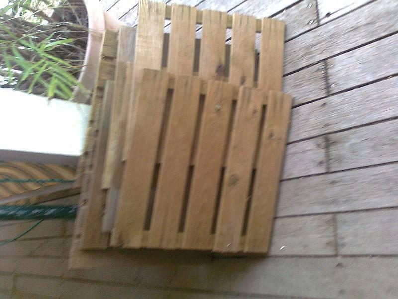 Trente dalles en bois annonce mobilier et quipement d for Equipement exterieur