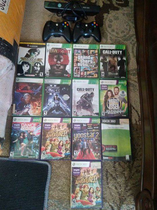 Ps3 And Xbox 360 And Gamecube Games