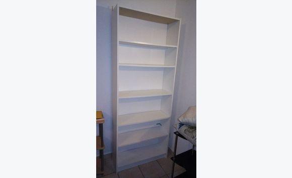 biblioth que blanche annonce meubles et d coration saint martin. Black Bedroom Furniture Sets. Home Design Ideas