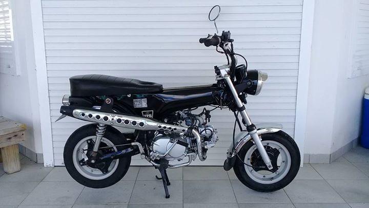 honda dax 125cc 125cc zhenhua city motos scooter. Black Bedroom Furniture Sets. Home Design Ideas