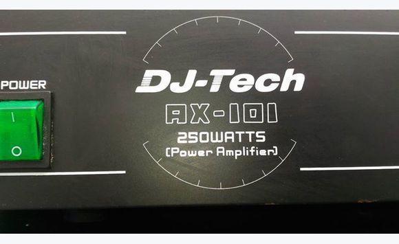 ampli sono dj-tech