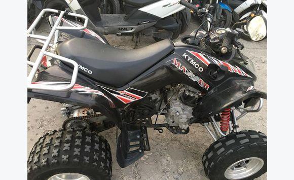 האחרון Kymco Maxxer 300 Quad - Motorbikes - Scooters - Quads Saint XS-29