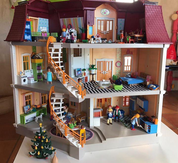 Maison playmobil for Les meilleurs decoration des maisons