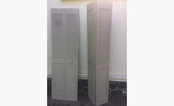 Porte de placard m tallique meubles et d coration martinique cyphoma - Porte placard pliante metallique ...