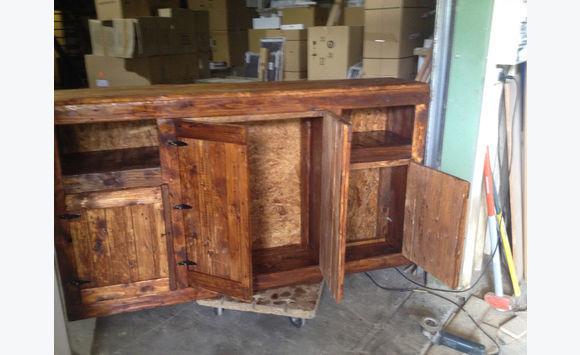meuble bois de palette double fond annonce meubles et d coration marigot saint martin. Black Bedroom Furniture Sets. Home Design Ideas