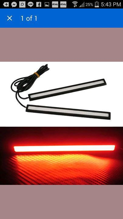 Led fog light strip classified ad parts equipment and led fog light strip antigua and barbuda mozeypictures Choice Image