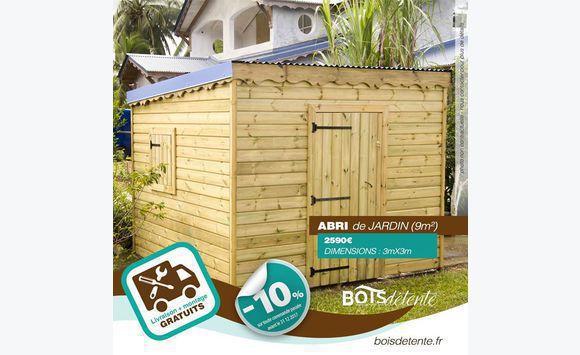 l\'abri de jardin par bois - Mobilier et équipement d\'extérieur ...