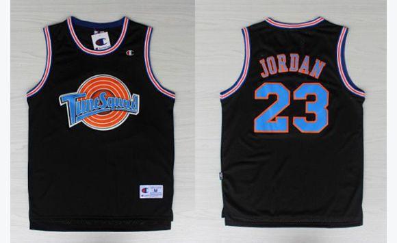 Size Xl Black Jersey Jordan Space Jam