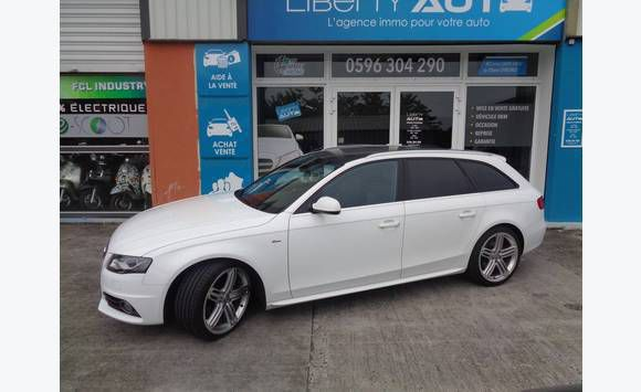 Audi A4 Avant 2 0 Tdi 143 Multitronic S Voitures Martinique