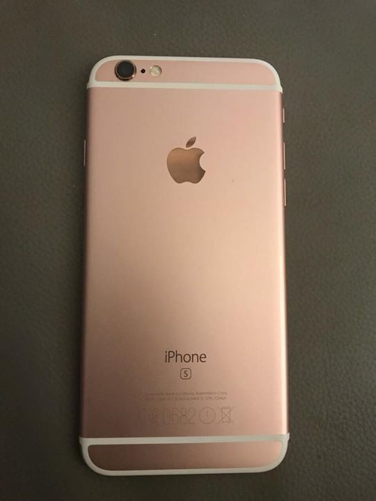 half off b3a7c ee087 iPhone 6 s rose gold