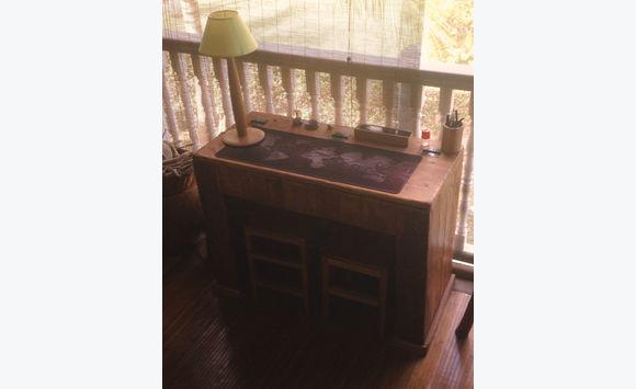 Bureau bois de palette pupitre pour enfant meubles et décoration