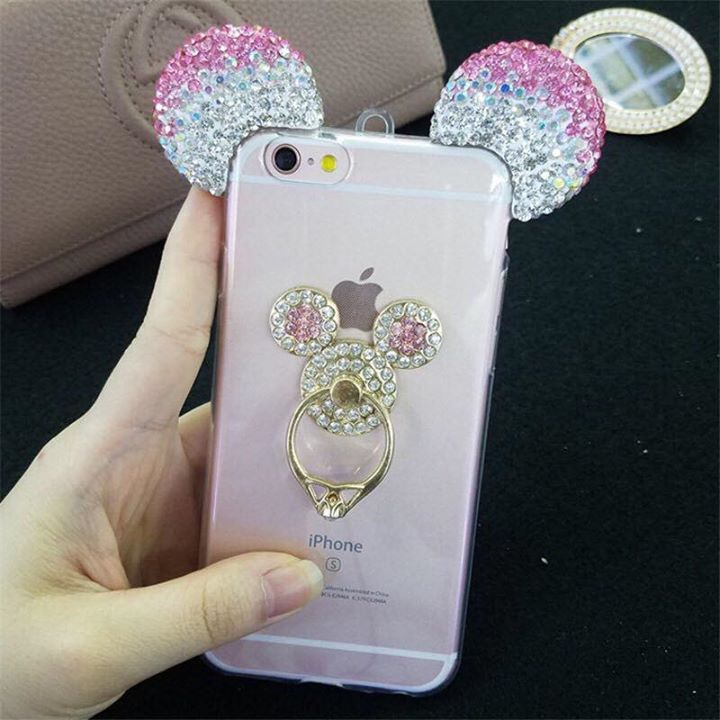coque galaxy s6 edge oreille mickey