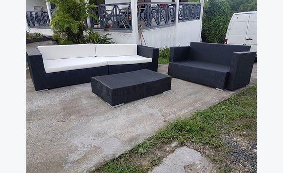 Ensemble Salon de jardin - Meubles et Décoration Guadeloupe • Cyphoma