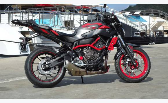 yamaha mt 07  YAMAHA MT 07 special edition - Motorbikes - Scooters - Quads Saint ...