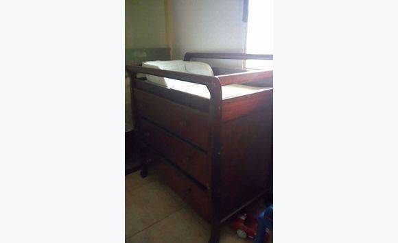 ... Changing Table Chest Drawer And High Chair