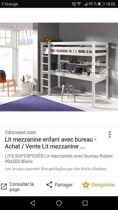lit mezzanine enfant annonce meubles et d coration. Black Bedroom Furniture Sets. Home Design Ideas