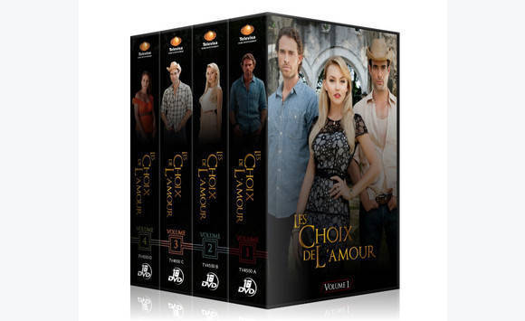 les choix de l 39 amour en coffret dvd telenovelas dvd cd livres la r union. Black Bedroom Furniture Sets. Home Design Ideas