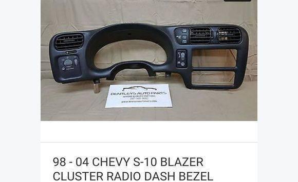 Chevy Blazer Dashboard Parts Equipment And Accessories Sint Maarten Cyphoma