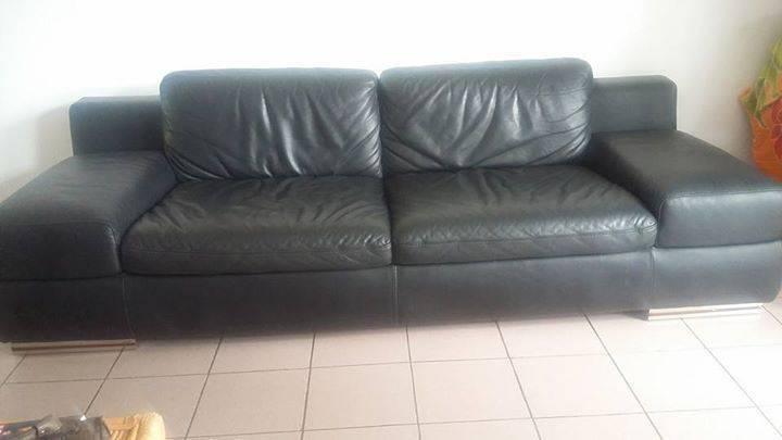 Canap en cuir annonce meubles et d coration le for Diamant sur canape