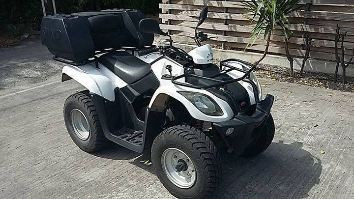 kymco 50cc quad classified ad motorbikes scooters. Black Bedroom Furniture Sets. Home Design Ideas