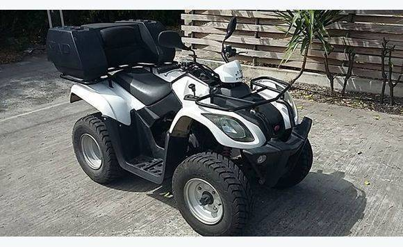 kymco 50cc quad classified ad motorbikes scooters quads saint barth lemy. Black Bedroom Furniture Sets. Home Design Ideas