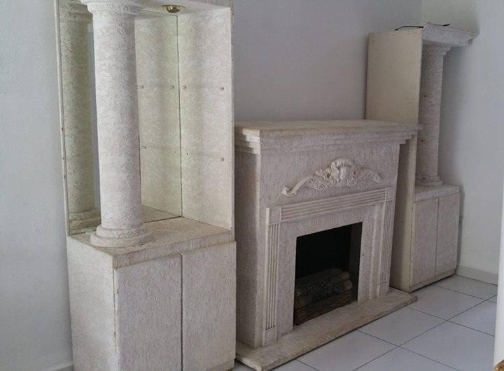 Unit murale fire place annonce meubles et d coration for Decoration unite murale