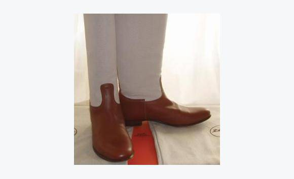 bottes d et 233 hermes toile cuir annonce chaussures gustavia barth 233 lemy