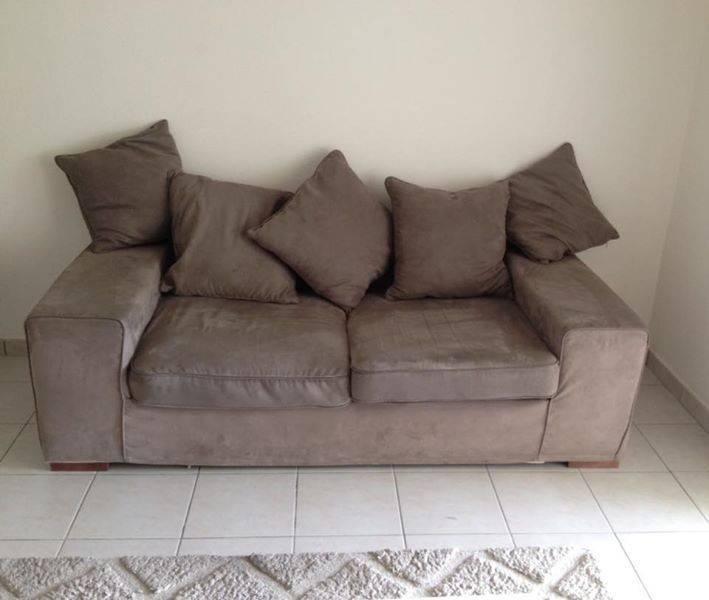 Canap gris enti rement d houssable annonce meubles et for Decoration canape gris