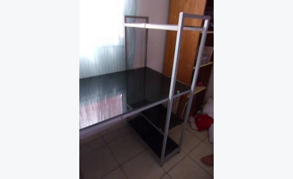 Bureau avec étagère noir book up meubles et décoration saint