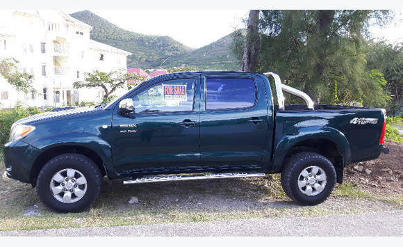 Toyota Hilux Classified Ad Cars Concordia Saint Martin