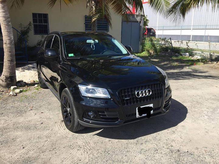 Black 2016 Audi Q5 Sint Maarten 1